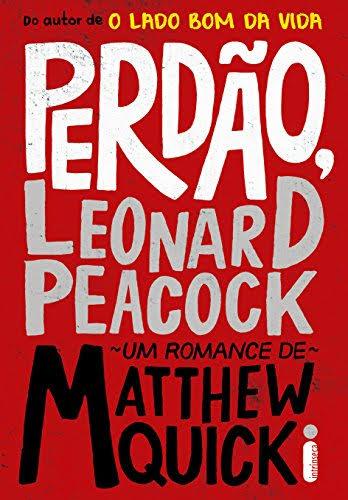 Imagem da capa da edição brasileira de Perdão, Leonard Peacock