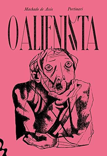 Imagem da capa da edição brasileira exclusiva da Amazon de O Alienista