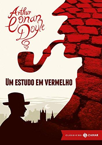 Imagem da capa da edição brasileira de Um Estudo em Vermelho