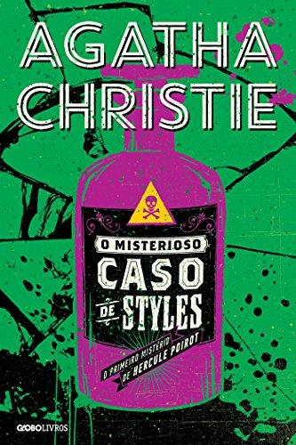 Imagem da capa da edição brasileira de O Misterioso caso de Styles